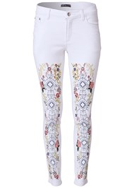 Alternate View Embellished Jeans