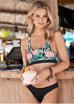 sport bikini top