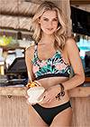 Front View Sport Bikini Top