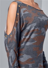 Alternate View Camo Lounge Dress
