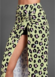 Alternate View Leopard Print Skirt
