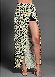 Detail  view Leopard Print Skirt