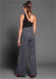 Detail  view Paperbag Stripe Jumpsuit