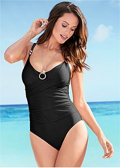 slimming one-piece