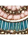 Alternate View Beaded Fringe Earrings