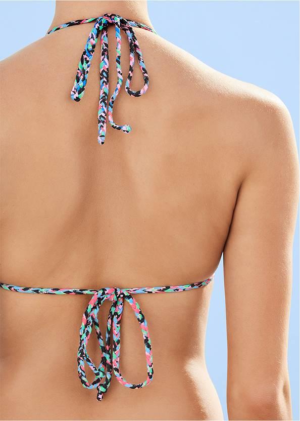Alternate View Braided Triangle Bikini Top