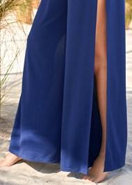 Alternate View Slit Leg Jumpsuit Cover-Up