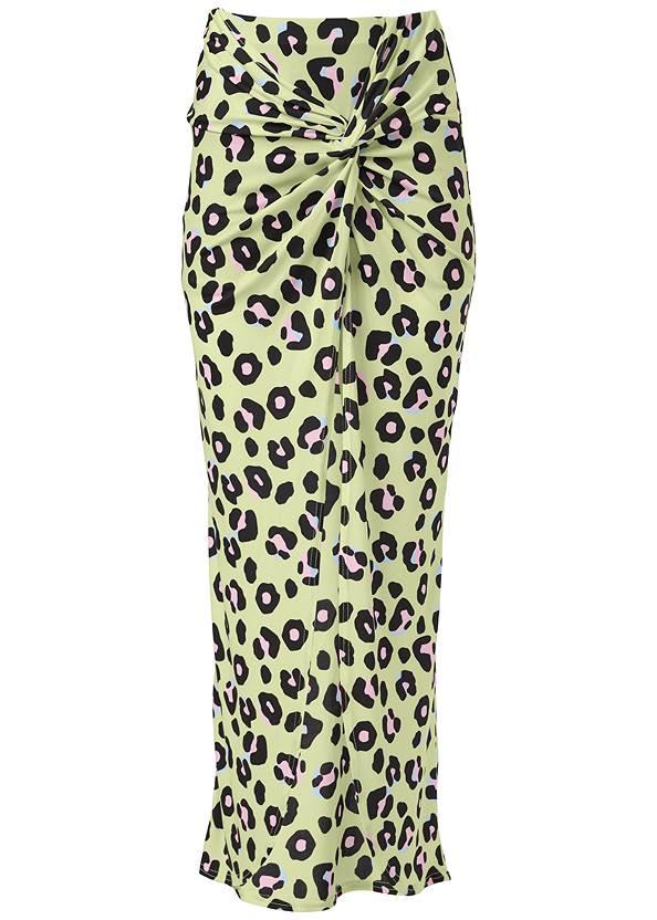Alternate View Leopard Print Skirt