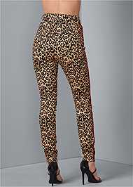 Alternate View High Rise Leopard Pants