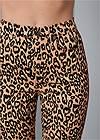 Alternate View High Rise Leopard Pants