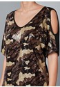 Alternate View Camo Sequin Top