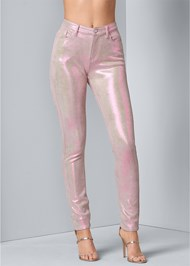 Front View Iridescent Pants