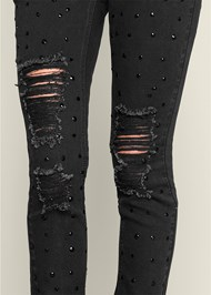 Alternate View Jewel Ripped Jeans