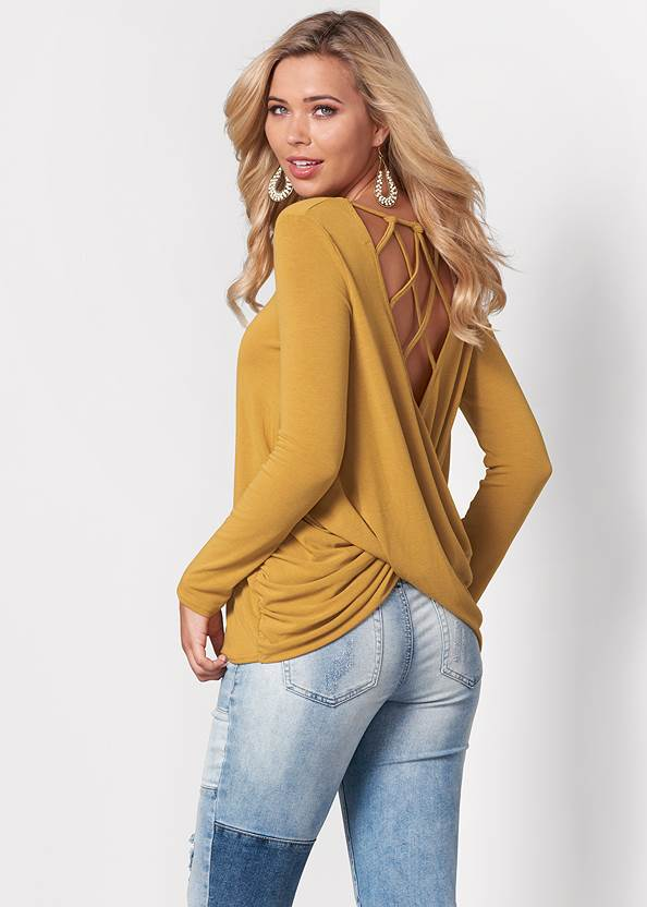 Alternate View Strappy Back Top