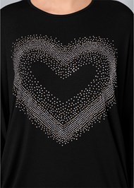 Alternate View Embellished Heart Tee