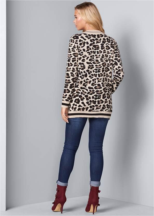 Back View Leopard Cardigan