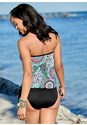 Back view Tie Side Blouson Tankini