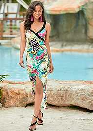 Front View High Low Dress