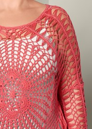 Alternate View Crochet Sweater