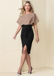 Alternate View Color Block Dress