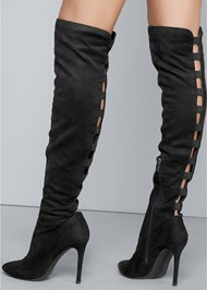 Alternate View Cut Out Detail Boots