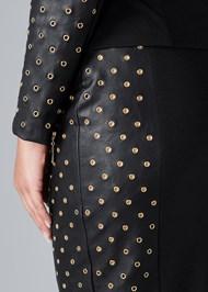 Alternate View Grommet Detail Skirt Set
