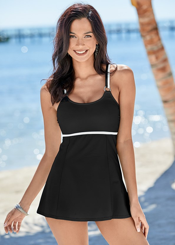 Swim Dress,Hoodie Cover-Up