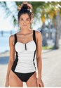 Front view Slenderizing Tankini Top