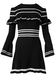 Alternate View Stripe Print Sweater Dress