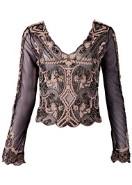 Alternate View Embroidered Blouse