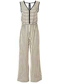 Ghost with background  view Cover-Up Jumpsuit