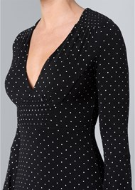 Alternate View Polka Dot Dress