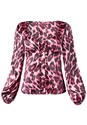 Alternate View Leopard Print Blouse