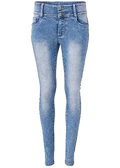 plus size high rise bum lifter jeans