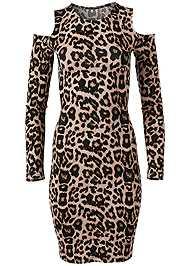 Alternate View Leopard Print Dress