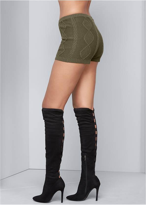 Alternate View Sweater Knit Shorts