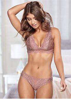 allover lace bikini panty