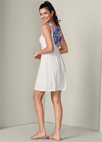 Lace Detail Sleep Dress
