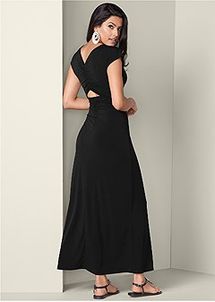 8a36ed921 open back maxi dress