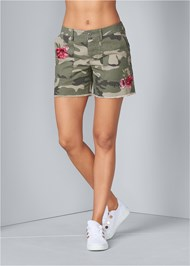 Front View Camo Shorts