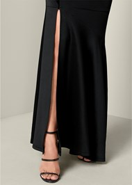 Alternate View One Shoulder Long Dress