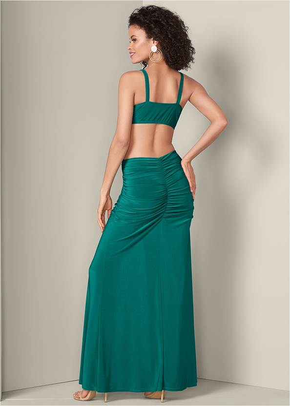 Back View Formal Dress