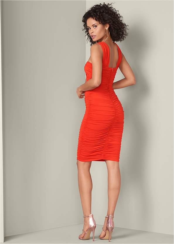 Back View Cut Out Dress