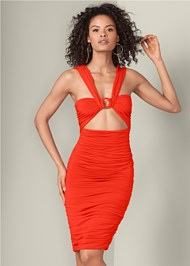 Front View Cut Out Dress
