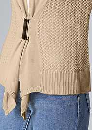 Alternate View Buckle Front Cardigan