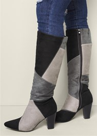 Alternate View Patchwork Boots