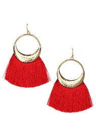 Front View Tassel Earrings