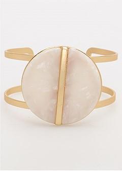 geometric open cuff