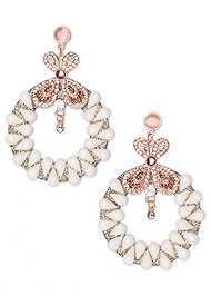 Front View Statement Earrings