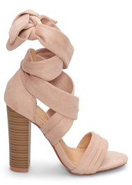 Alternate View Wrap Around Heels